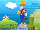 Get 100 Feedback In 24 Hours On Ebay Ebook + Resell Rights !