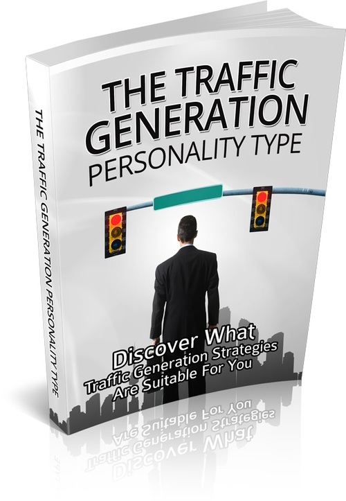Product picture The Traffic Generation Personality Type Master Resell Rights