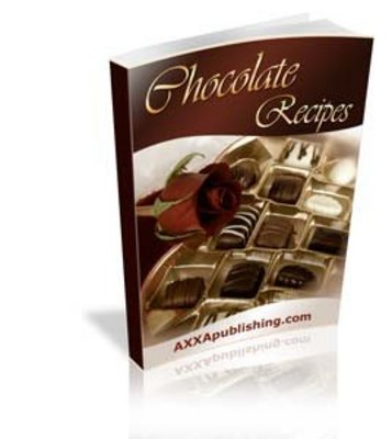 Product picture 600 ULTIMATE CHOCOLATE RECIPES EBOOK + RESELL RIGHTS