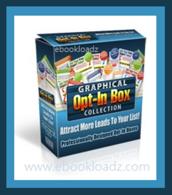 Product picture Graphical Opt-In Box Collection + Master Resell Rights NEW !