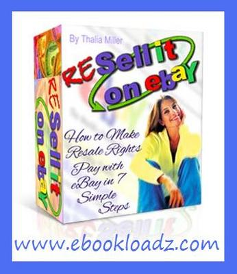 Product picture RESELL it On eBay Ebook With Master Resell Rights !!