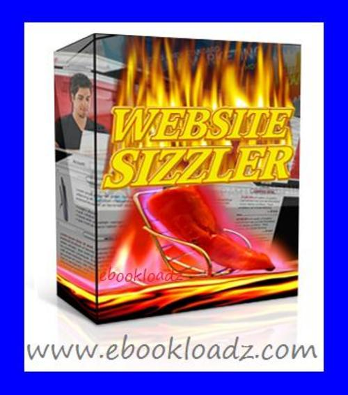 Product picture Website Sizzler Software With Master Resell Rights ! NEW !!