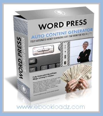 Product picture Automate Your Blogs With Wordpress Auto Content Generator In